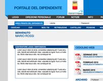 MokeUp Portale del Dipendente (Napoli)