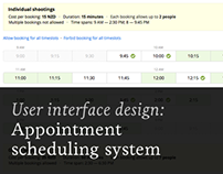 Appointment scheduling system (SaaS)
