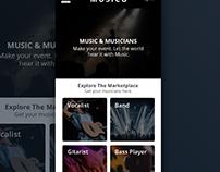 Musico Web App