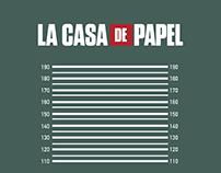INFOGRAFÍA LA CASA DE PAPEL