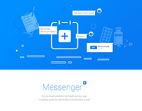 Messenger for Health Service App