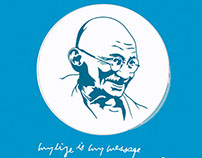 Happy birthday Gandhiji