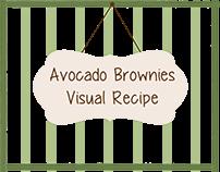 Avocado Brownies - Visual Recipe
