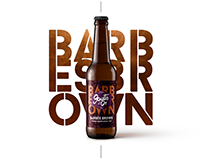 Bière Barbès Brown - Packaging
