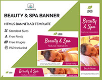 Beauty & Spa Banner- HTML5 Ad Template