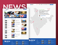 Democracy News Live Website Redesign