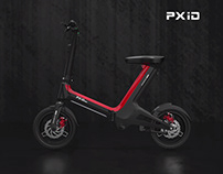 Intelligent folding electric bike design