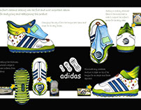 Adidas Infant's shoes