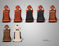 Lotus Elise Probax seats.