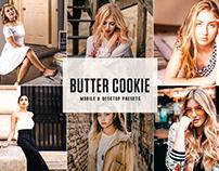 Free Butter Cookie Mobile & Desktop Lightroom Presets