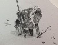The Hunter - Handmade Book