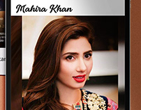 Branding of a Celebrity - Mahira Khan