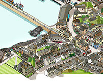 Newlyn Cornwall Map