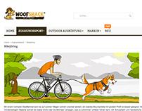 Illustrations for Woofshack website