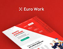 "Landing page ""Work in Poland & other country of EU"""