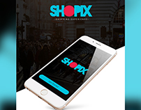 SHOPIX - App interface Design