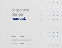 Complete Brand Manual and Guidelines with real Text