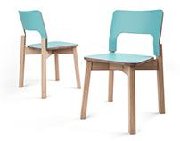 3d model: S293 Chair by Balzar Beskow