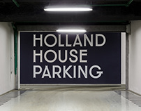 Holland House. Parking Navigation