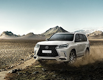 LEXUS LX570 - INVINCIBLE RIDE
