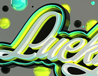 3D Typography Project