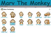 Marv The Monkey Imessage Sticker Pack