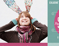 Easter Saler - web promotion