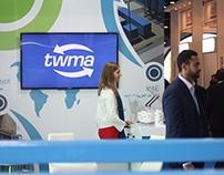 TWMA exhibition stand