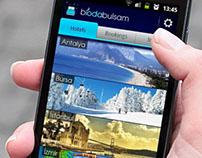 biodabulsam Android App UI/UX Design