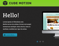Cube Motion Website