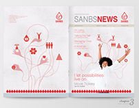 SANBS News Internal Magazine (40 Pager)