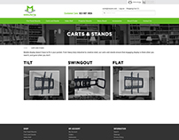 Mounts.com Refresh Website Design