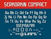 Serkorkin Compact Font