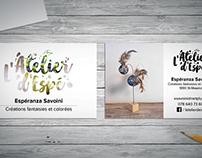 l'Atelier d'Espé - Logo & carte de visite