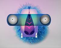 STRANGE FACES Interactive Design.