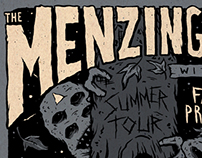 Menzingers Summer Tour 2013 poster