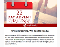 RCSpirituality Advent Email #1