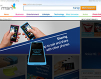 N9 NFC - Rich Media Banner for MSN