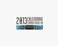 2013 Calendar | 50's Cars