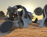 Piston Pod Racer