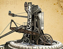 Steampunk Catapult
