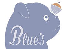 Blue's Bakery Logo