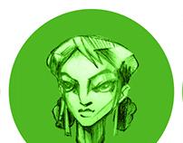 Character Design - Zoya
