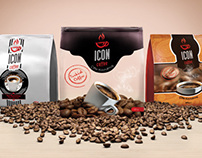 ICON COFFEE • Packaging