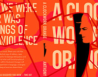 Penguin Random House Design Awards - A Clockwork Orange