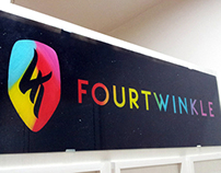Fourtwinkle Shop Name Board