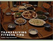 John Karwowski | Thanksgiving Fitness Tips