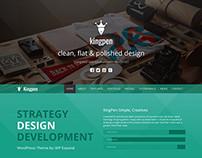 KingPen – Responsive multi-page WordPress Theme