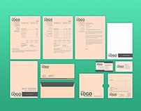Branding Identity Stationary Package