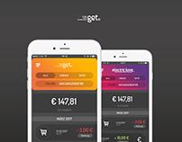 GET Wallet App UI / UX